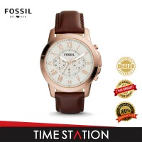 Fossil Grant Chronograph Leather Men's Watch FS4991