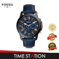 Fossil Grant Chronograph Leather Men's Watch FS5061