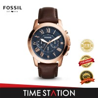 Fossil Grant Chronograph Leather Men's Watch FS5068