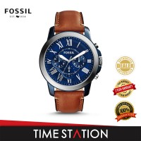 Fossil Grant Chronograph Leather Men's Watch FS5151