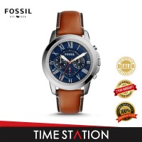 Fossil Grant Chronograph Leather Men's Watch FS5210