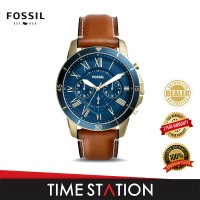 Fossil Grant Sport Chronograph Leather Men's Watch FS5268