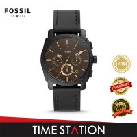 Fossil Machine Chronograph Leather Men's Watch FS5586