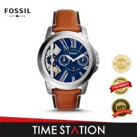 Fossil Grant Twist Three-Hand Luggage Leather Men's Watch ME1161