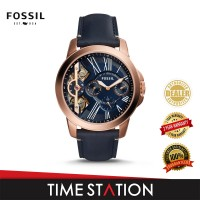 Fossil Grant Twist Three-Hand Luggage Leather Men's Watch ME1162