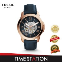 Fossil Grant Automatic Leather Men's Watch ME3102