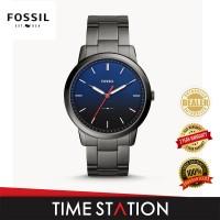 Fossil Minimalist Slim Three-Hand Smoke Stainless Steel Men's Watch FS5377
