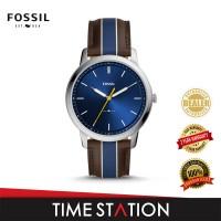 Fossil Minimalist Three-Hand Leather Men's Watch FS5554