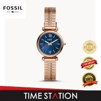 Fossil Carlie Three-Hand Stainless Steel Women's Watch ES4693