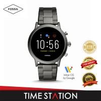Fossil The Carlyle Gen 5 HR Smoke Stainless Steel Men's Smart Watch FTW4024