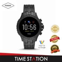 Fossil Garrett Gen 5 HR Smoke Stainless Steel Men's Smart Watch FTW4038