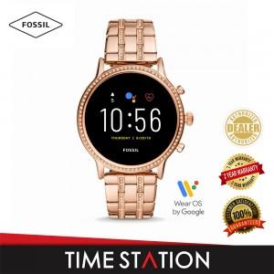 Fossil Julianna Gen 5 HR Rose Gold Stainless Steel Women's Smart Watch FTW6035