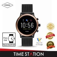 Fossil Julianna Gen 5 HR Smoke Stainless Steel Women's Smart Watch FTW6036