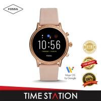 Fossil Julianna Gen 5 HR Blush Leather Women's Smart Watch FTW6054