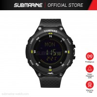 SUBMARINE TP-1391-MPS(B) DIGITAL MEN'S SPORT WATCH