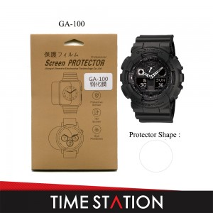 Screen Protector for Casio G-Shock G-Series (HD Tempered Glass with Hydrophobic Coating / HD Film)