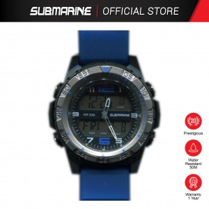 SUBMARINE M-064-M-PS-AN ANALOGUE DIGITAL MEN'S WATCH