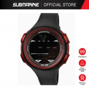 SUBMARINE TP-1354-M-PS(B) DIGITAL MEN'S WATCH