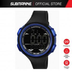 SUBMARINE TP-1354-M-PS(B) DIGITAL MEN'S WATCH