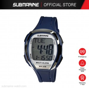 SUBMARINE TP-1382-M-PS DIGITAL MEN'S WATCH