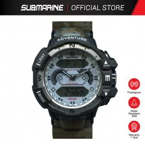 SUBMARINE  TP-3161-M-PS-AN(B) ANALOGUE DIGITAL MEN'S WATCH