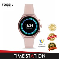 Fossil Sport Blush Silicone Women's Watch FTW6056