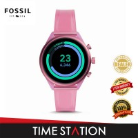 Fossil Sport Blush Silicone Women's Watch FTW6058