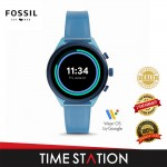 Fossil Sport Blue Silicone Women's Watch FTW6056