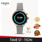 Fossil Sport Black Silicone Women's Smart Watch FTW6025