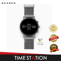 【Timestation】Skagen Falster 2 Silver Magnetic Steel Smart Watch SKT5105