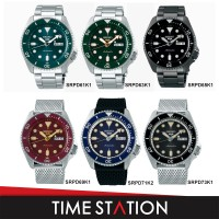 【Time Station】SEIKO 5 SPORTS AUTOMATIC SRPD61K1/SRPD63K1/SRPD65K1/SRPD69K1/SRPD71K2/SRPD73K1 MEN'S WATCH