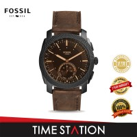 【Time Station】Fossil Machine Leather Hybrid Smartwatch FTW1163