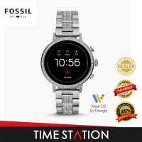 Fossil Venture Gen 4 HR Stainless Steel Women's Smart Watch FTW6013