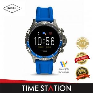 Fossil Garrett Gen 5 HR Black Silicone Men's Smart Watch FTW4042