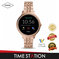 【Timestation】Fossil Gen 5E Rose Gold Stainless Steel Women's Smart Watch FTW6073