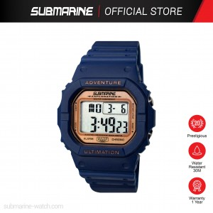 SUBMARINE TP-1373-M-PS(B) DIGITAL MEN'S WATCH