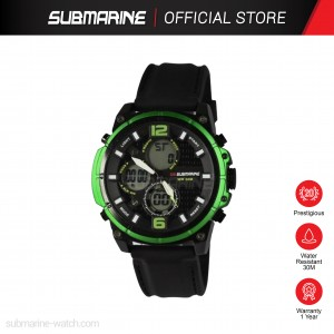 SUBMARINE TAP-5270-M-PS-AN ANADIGIT WATCH