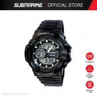 SUBMARINE TP-3215-M-PS-AN ANADIGIT WATCH