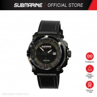 SUBMARINE TL-1152-BLK-MD-LS ANALOGUE MEN'S WATCH