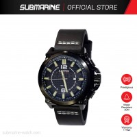 SUBMARINE TL-8302-BLK-MD-LS ANALOGUE MEN'S WATCH