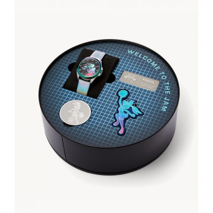 Fossil Space Jam Bugs Bunny Watch Limited Edition Box Set in Slam Dunk Collection LE1126 SET