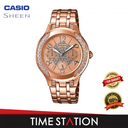 CASIO   SHEEN   SHE-3803PG-9AUDR