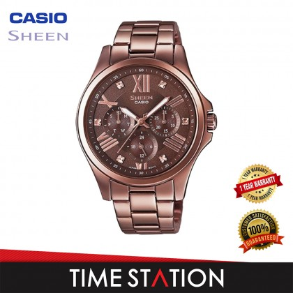 CASIO   SHEEN   SHE-3806BR-5AUDR