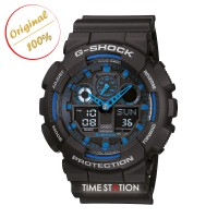 CASIO G-SHOCK GA-100-1A2 | ANALOG DIGITAL WATCHES