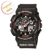 CASIO G-SHOCK GA-100-1A4 | ANALOG DIGITAL WATCHES