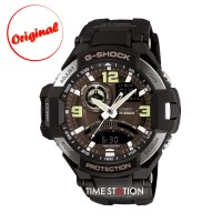 CASIO G-SHOCK GA-1000-1B | GRAVITYMASTER | ANALOG-DIGITAL WATCHES