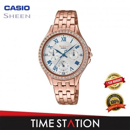 CASIO | SHEEN | MULTI HAND | SHE-3062PG-7A