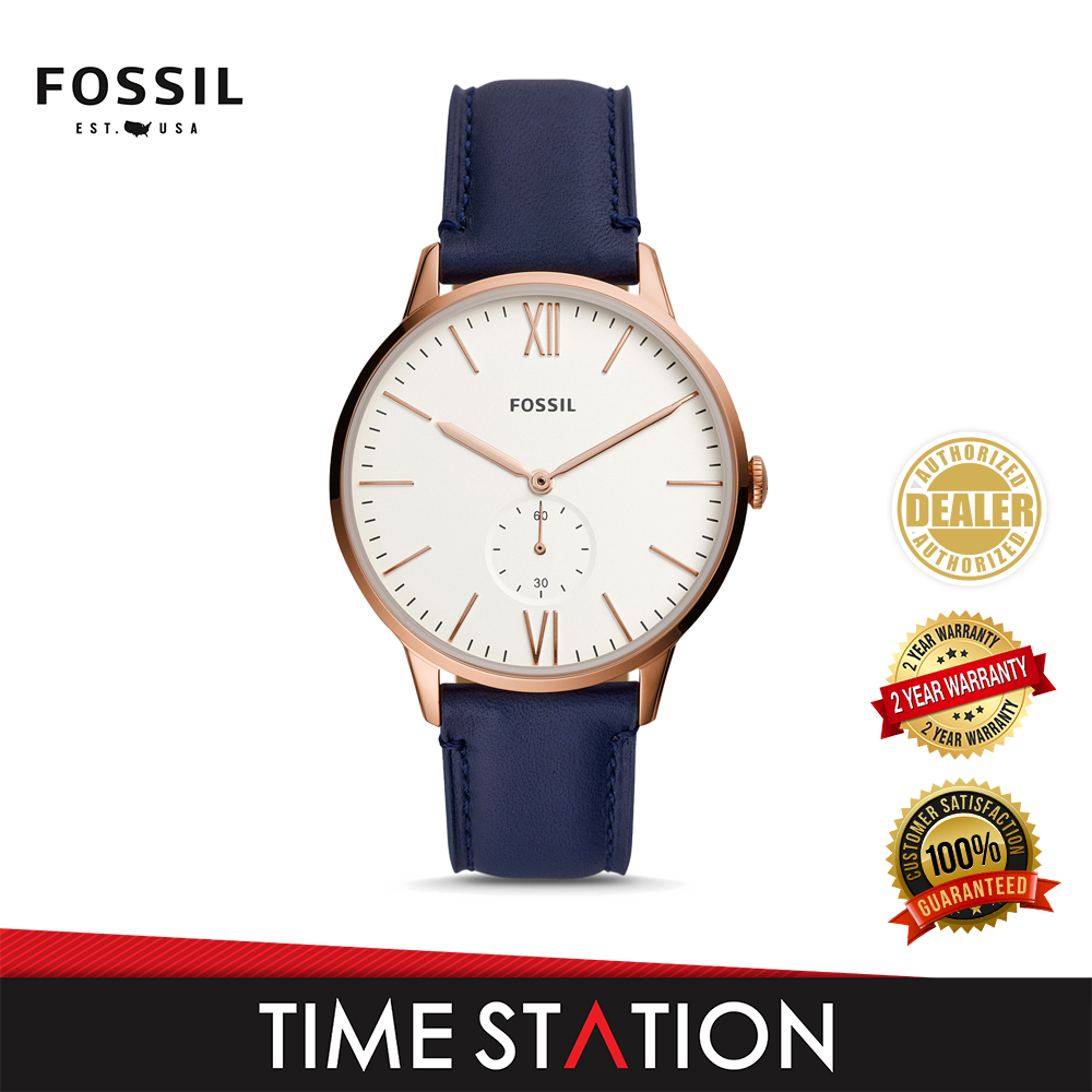 Fossil Andy Three-Hand Date Leather Men\'s Watch FS5567