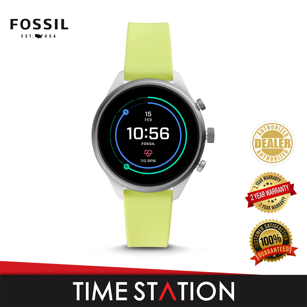 Fossil Sport Neon Silicone Women's Smart Watch FTW6028