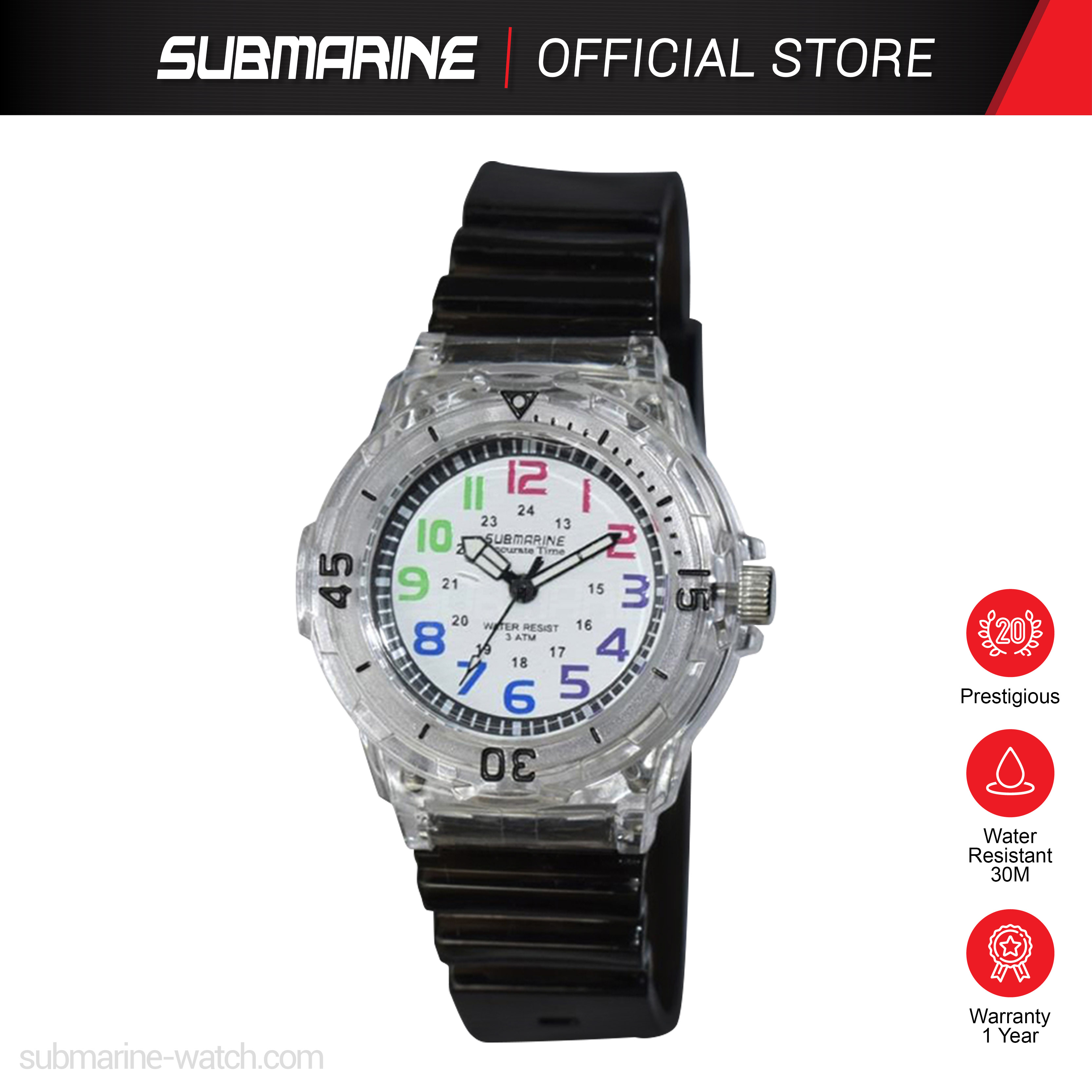 SUBMARINE TP-2108-L-PS-C ANALOGUE WATCH